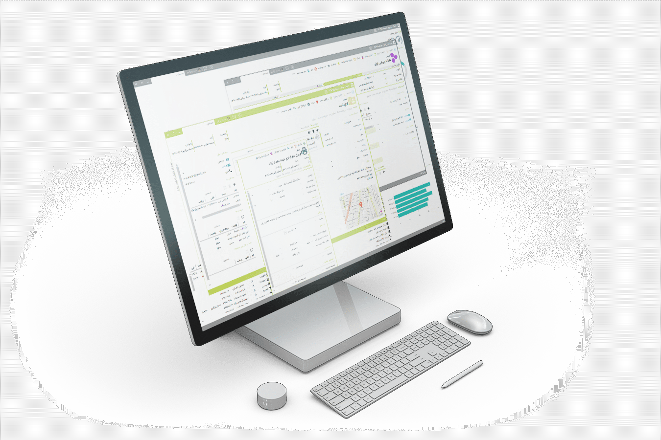 نمایش و دموی نرم افزار مدیریت ارتباط با مشتری CRM